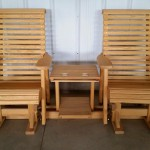 Rollback Personal Glider Settee